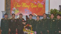 Bộ CHQS tỉnh Xiêng Khoảng chúc tết BĐBP Nghệ An