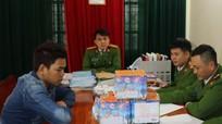 Công an Đô Lương bắt qủa tang vụ tàng trữ 8kg pháo