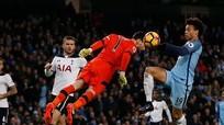 Man City phải chia điểm cho Tottenham dù dẫn hai bàn
