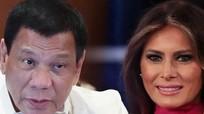 Duterte khen vợ Trump đẹp
