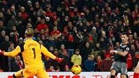 Liverpool dừng chân ở bán kết Cúp Liên đoàn Anh