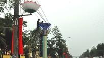 TP Vinh: 10 tỷ đồng xã hội hoá đầu tư cho hệ thống đèn trang trí Tết