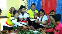 Nghi lễ cúng thần linh ngày mồng 1 Tết của đồng bào Thái