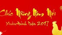 Bí thư Tỉnh ủy Nguyễn Đắc Vinh gửi thư chúc mừng năm mới Tết Đinh Dậu 2017