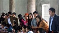 Khai bút đầu xuân – nét đẹp truyền thống làng Quỳnh