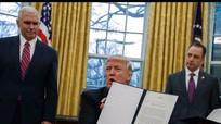 Mỹ hoàn tất thủ tục rút khỏi TPP, gửi thông báo cho 11 nước