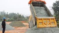 Đô Lương xây dựng bãi đỗ xe rộng 10.000 m2 phục vụ lễ hội đền Quả Sơn