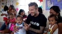 Beckham làm từ thiện để được phong tước Hiệp sĩ