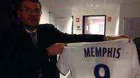 Lyon gây sốc khi đưa áo đấu của Depay vào bảo tàng