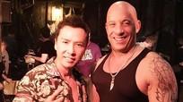 Chân Tử Đan ví mình và Vin Diesel như 'sư tử và hổ'