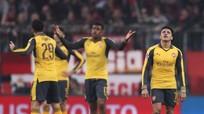 Arsenal thảm bại trên sân Bayern, lịch sử không thay đổi
