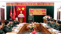 Đảng ủy Cục Chính trị Quân khu 4 kiểm điểm theo Nghị quyết Trung ương 4 (khóa XII)
