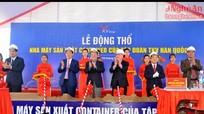 Động thổ Dự án Nhà máy sản xuất container của Tập đoàn TKV-Hàn Quốc