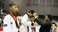 Đoàn Nghệ An đoạt 5 HCV Giải Taekwondo học sinh toàn quốc