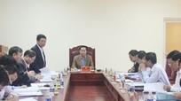 Trưởng Ban Tổ chức Tỉnh ủy:'Thị xã Hoàng Mai cần quan tâm sắp xếp tổ chức, bộ máy'