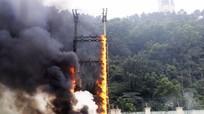 Công ty Điện lực Nghệ An dập tắt sự cố cháy tại trạm biến áp 180 KVA