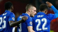 Vardy giữ lại hy vọng đi tiếp cho Leicester dù thua Sevilla