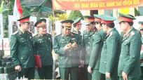 Quân khu 4 kiểm tra công tác chuẩn bị huấn luyện tân binh