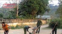 Đồn Biên phòng Hạnh Dịch tuyên truyền về bệnh viêm cầu thận cho người dân