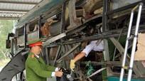 Khởi tố vụ nổ xe khách ở Bắc Ninh