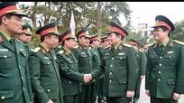 Bộ trưởng Bộ Quốc phòng: LLVT Nghệ An tiếp tục tham mưu đúng, trúng, có hiệu quả, xử lý kịp thời các tình huống