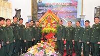 Bộ Tư lệnh Quân khu 4 chúc mừng BĐBP Nghệ An nhân ngày truyền thống BĐBP