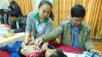 1.000 trẻ em Quỳnh Lưu được khám sàng lọc bệnh bẩm sinh