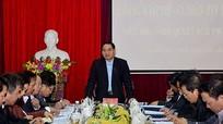 Bí thư Tỉnh ủy: TP Vinh cần thực hiện nghiêm pháp luật của Nhà nước về quản lý đô thị