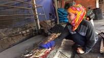 Làng nướng cá bên dòng Lạch Vạn