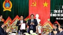 Chánh án TAND tối cao bổ nhiệm Phó Chánh án TAND huyện Tân Kỳ