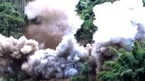 Nghệ An: Gần nửa tấn thuốc nổ đánh sập hàng loạt hầm vàng thổ phỉ