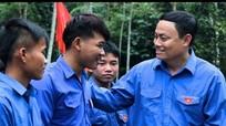 34 tân đoàn viên tuyên thệ trên công trình thanh niên
