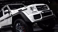 Mercedes trình làng mẫu SUV Maybach đắt giá nhất thế giới