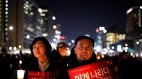 Người biểu tình kêu gọi bắt cựu tổng thống Park Geun-hye