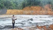 Sự cố vỡ đập chứa bùn thải: Doanh nghiệp 'hứa một đằng làm một nẻo'