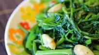 5 công dụng bất ngờ của rau muống