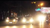 Công an TP Vinh xử phạt 85 trường hợp bật đèn pha trong nội thành