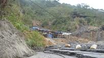 Cận cảnh đập chứa chất thải mới phát hiện trên đỉnh núi Lan Toong