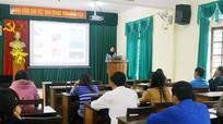 Tập huấn nghiệp vụ làm báo điện tử cho cộng tác viên Đô Lương