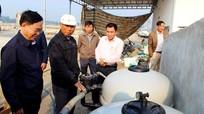 Nghệ An: Áp dụng công nghệ Biofloc ổn định tảo trong đầm nuôi tôm