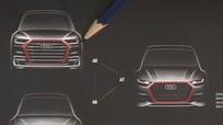 Audi A6, A7, A8 thế hệ mới lần đầu lộ thiết kế