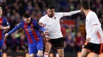 Messi lập cú đúp, Barca thắng đậm Valencia