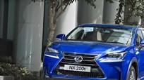 Triệu hồi 276 xe Lexus NX200t tại thị trường Việt Nam