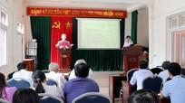 Tập huấn nghiệp vụ báo chí cộng tác viên huyện Nghĩa Đàn