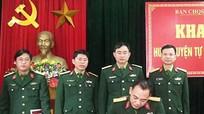 Cửa Lò tập huấn dân quân tự vệ năm 2017