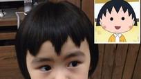 Cô bé 5 tuổi nằng nặc đòi cắt tóc răng cưa giống Maruko