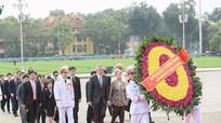 Thủ tướng Lý Hiển Long vào Lăng viếng Chủ tịch Hồ Chí Minh