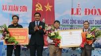 Nhân dân xã Xuân Sơn đóng góp trên 152 tỷ đồng xây dựng Nông thôn mới