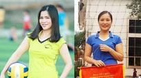 Thanh Chương: Cô giáo đoạt giải Hoa khôi bóng chuyền hơi nữ