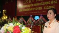 'Lực lượng hồ sơ Công an tỉnh Nghệ An 60 năm trung thành, tận tụy, kịp thời'